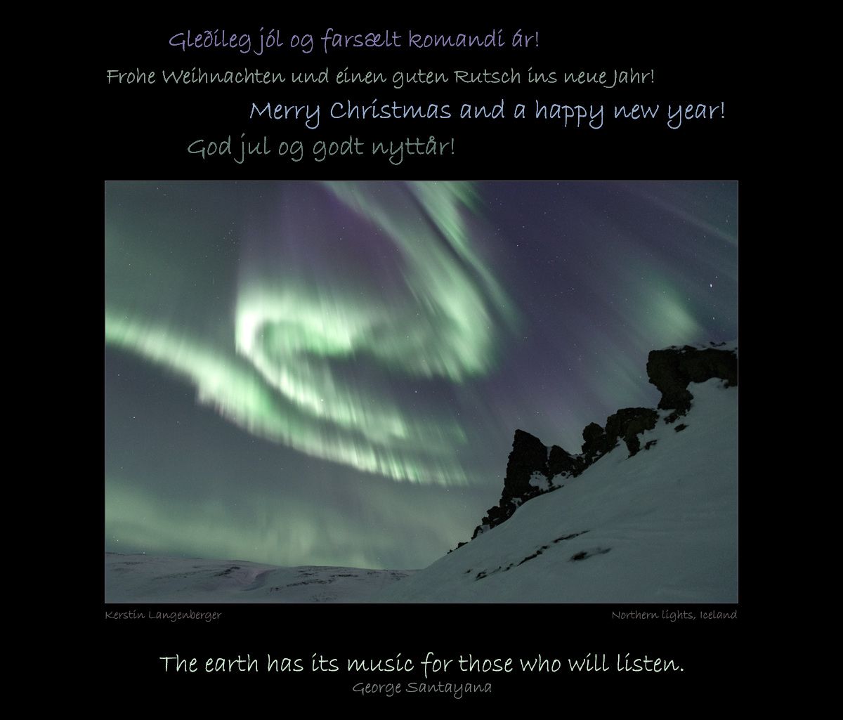 Weihnachtsessen Island.Arctic Dreams Com Merry Christmas And A Happy 2017